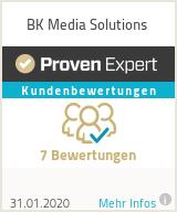 Erfahrungen & Bewertungen zu BK Media Solutions