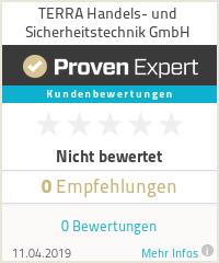 Erfahrungen & Bewertungen zu TERRA Handels- und Sicherheitstechnik GmbH