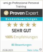 Erfahrungen & Bewertungen zu ami.go Professional Personal Training