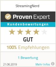 Erfahrungen & Bewertungen zu StreamingNerd