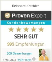 Erfahrungen & Bewertungen zu Reinhard Krechler