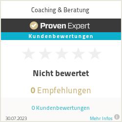 Erfahrungen & Bewertungen zu Coaching & Beratung