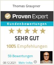 Erfahrungen & Bewertungen zu Thomas Graupner