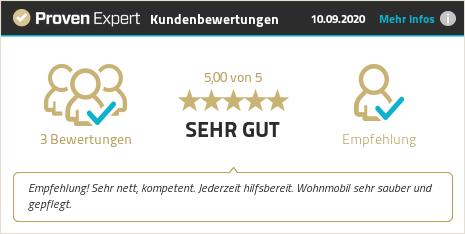 Kundenbewertungen & Erfahrungen zu rent-my-wohnmobil.de. Mehr Infos anzeigen.