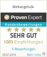 Erfahrungen & Bewertungen zu Webangels24