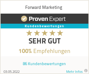 Erfahrungen & Bewertungen zu Forward Marketing