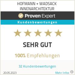 Erfahrungen & Bewertungen zu HOFMANN + WADSACK INNENARCHITEKTUR