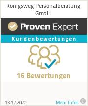Erfahrungen & Bewertungen zu Königsweg Personalberatung GmbH