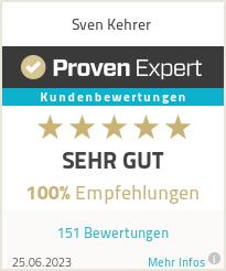 Erfahrungen & Bewertungen zu Sven Kehrer
