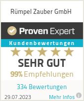Erfahrungen & Bewertungen zu Rümpel Zauber NRW