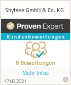 Erfahrungen & Bewertungen zu Shytsee GmbH & Co. KG