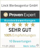 Erfahrungen & Bewertungen zu Linck Werbeagentur GmbH