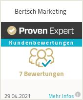 Erfahrungen & Bewertungen zu Bertsch Marketing