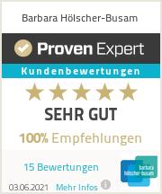 Erfahrungen & Bewertungen zu Barbara Hölscher-Busam