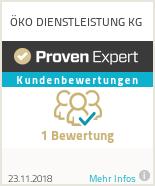 Erfahrungen & Bewertungen zu ÖKO DIENSTLEISTUNG KG