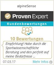 Erfahrungen & Bewertungen zu alpineSense