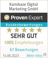 Erfahrungen & Bewertungen zu Kamikaze Digital Marketing GmbH