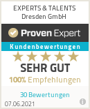 Erfahrungen & Bewertungen zu EXPERTS & TALENTS Dresden GmbH
