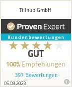 Erfahrungen & Bewertungen zu tillhub GmbH