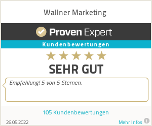 Erfahrungen & Bewertungen zu Wallner Marketingberatung & -training