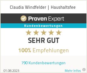Erfahrungen & Bewertungen zu Claudia Windfelder