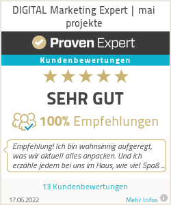 Erfahrungen & Bewertungen zu DIGITAL Marketing Expert | mai projekte