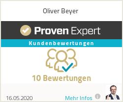 Erfahrungen & Bewertungen zu Oliver Beyer