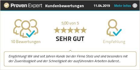 Kundenbewertungen & Erfahrungen zu Stolz Computertechnik GmbH. Mehr Infos anzeigen.