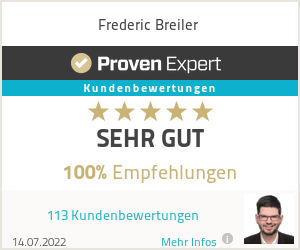 Erfahrungen & Bewertungen zu Frederic Breiler