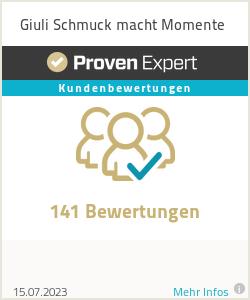 Erfahrungen & Bewertungen zu Giuli Schmuck macht Momente