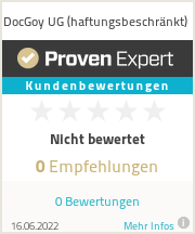 Erfahrungen & Bewertungen zu DocGoy UG (haftungsbeschränkt)