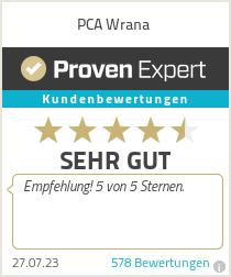 Erfahrungen & Bewertungen zu PCA Wrana