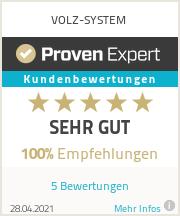 Erfahrungen & Bewertungen zu VOLZ-SYSTEM