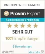 Erfahrungen & Bewertungen zu BMOTION ENTERTAINMENT