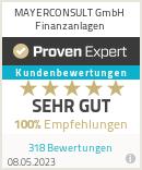 Erfahrungen & Bewertungen zu MAYERCONSULT e. K.