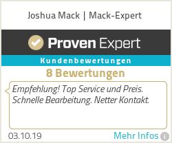 Erfahrungen & Bewertungen zu Joshua Mack | Mack-Solution