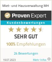 Erfahrungen & Bewertungen zu Miet- und Hausverwaltung MH