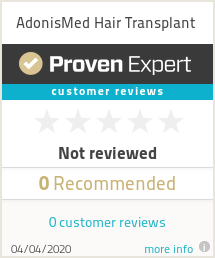 Ratings & reviews for AdonisMed Hair Transplant