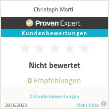 Erfahrungen & Bewertungen zu Christoph Marti