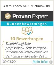 Erfahrungen & Bewertungen zu Astro-Coach M.K. Michalowski
