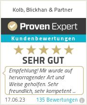 Erfahrungen & Bewertungen zu Kolb, Blickhan & Partner