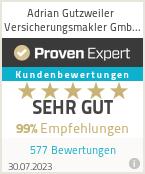 Erfahrungen & Bewertungen zu Adrian Gutzweiler Versicherungsmakler GmbH & Co. KG