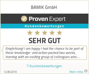 Ratings & reviews for BAMIK GmbH