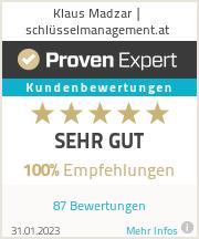 Erfahrungen & Bewertungen zu Klaus Madzar | schlüsselmanagement.at