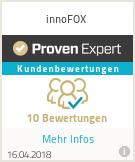 Erfahrungen & Bewertungen zu innoFOX