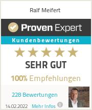 Erfahrungen & Bewertungen zu Ralf Meifert