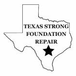 Texas Strong Foundation Repair