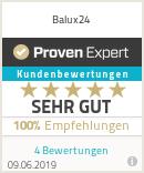 Erfahrungen & Bewertungen zu Balux24