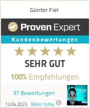 Erfahrungen & Bewertungen zu Günter Fiel