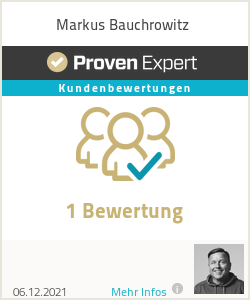 Erfahrungen & Bewertungen zu Markus Bauchrowitz